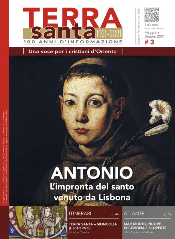 copertina Terrasanta d'Italia - numero 3 maggio-giugno 2021